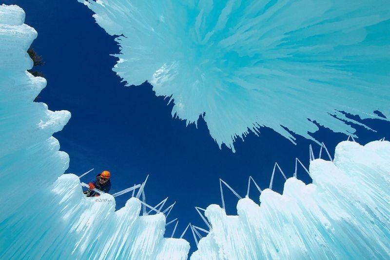 ледяные замки сша