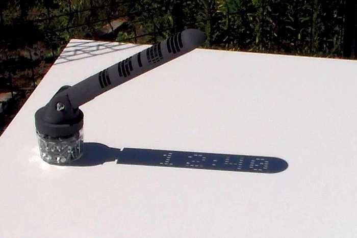необычные солнечные часы