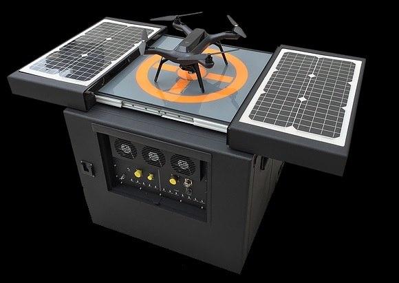 платформа для автономной работы беспилотников