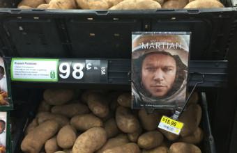 реклама картошки