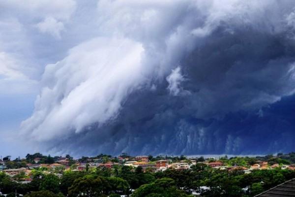 шельфовые облака в австралии
