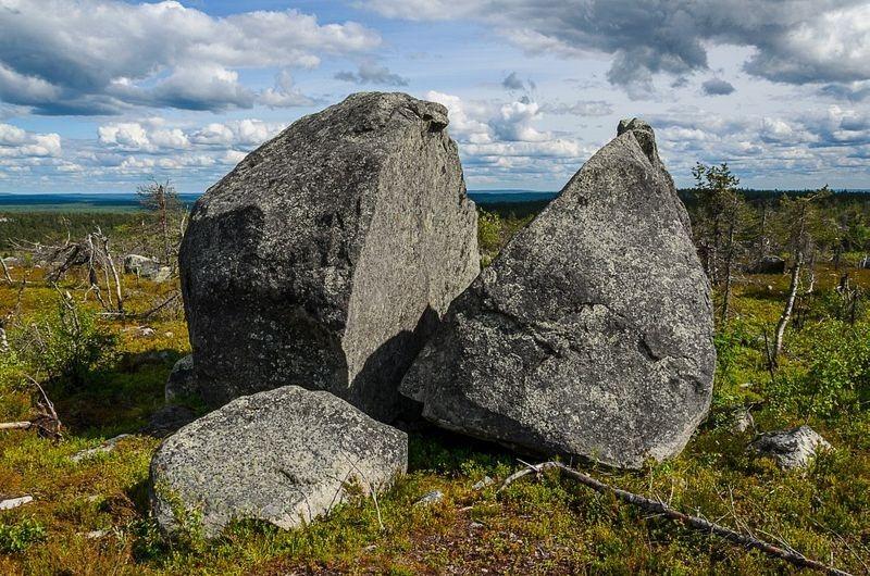странные камни воттоваары