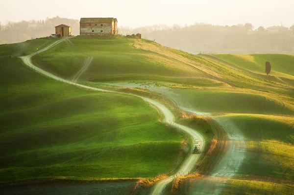 тоскания, италия фото