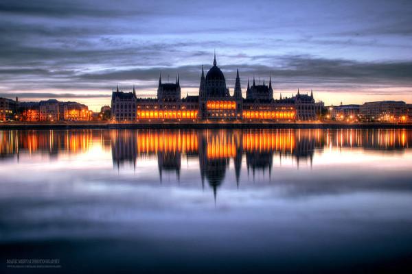 восход в Будапеште