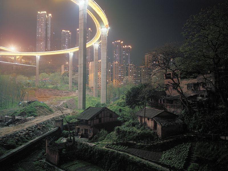 деревни в черте города китай
