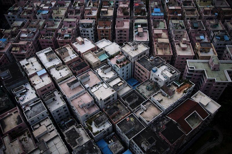 деревни в китае в черте города
