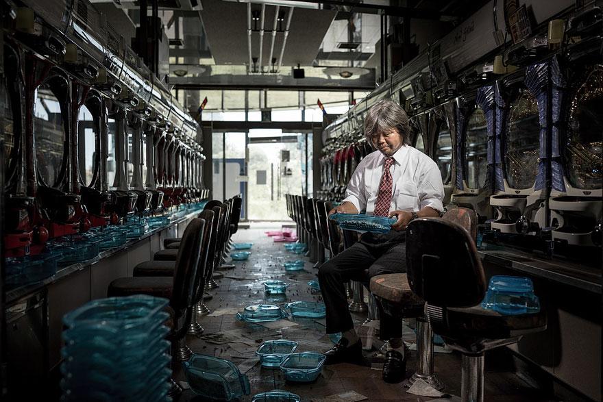 город Тамиока после аварии на фукусиме