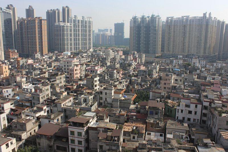 китай поселок городского типа