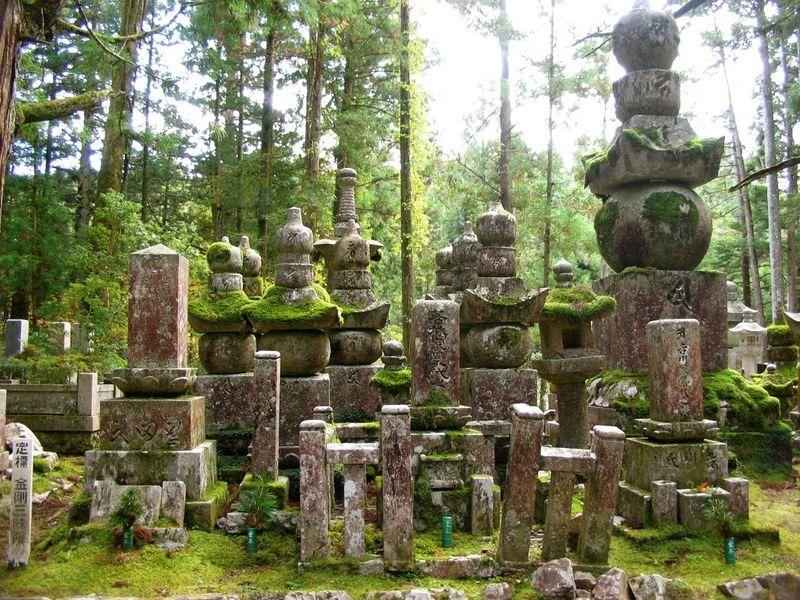кладбище в Окуноин 2