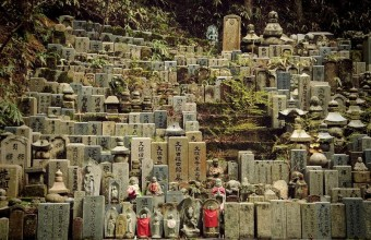 кладбище в Окуноин