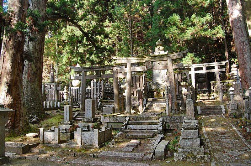 кладбище в Окуноин фото