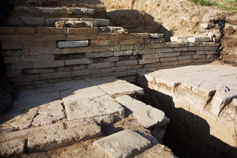 раскопки в Пор-Бажын