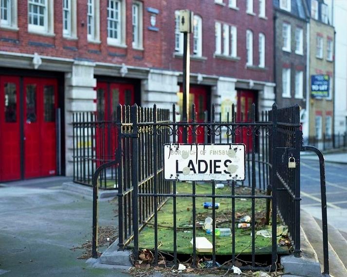 старые туалеты Лондона