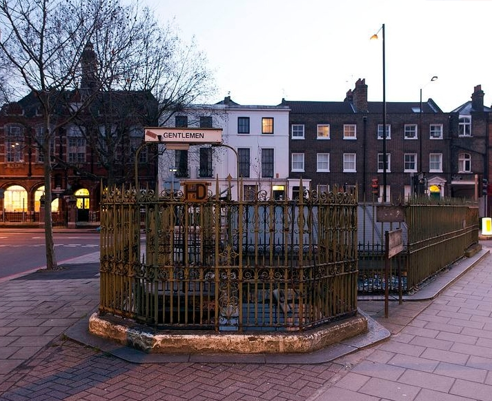 старинный туалет на юге Лондона