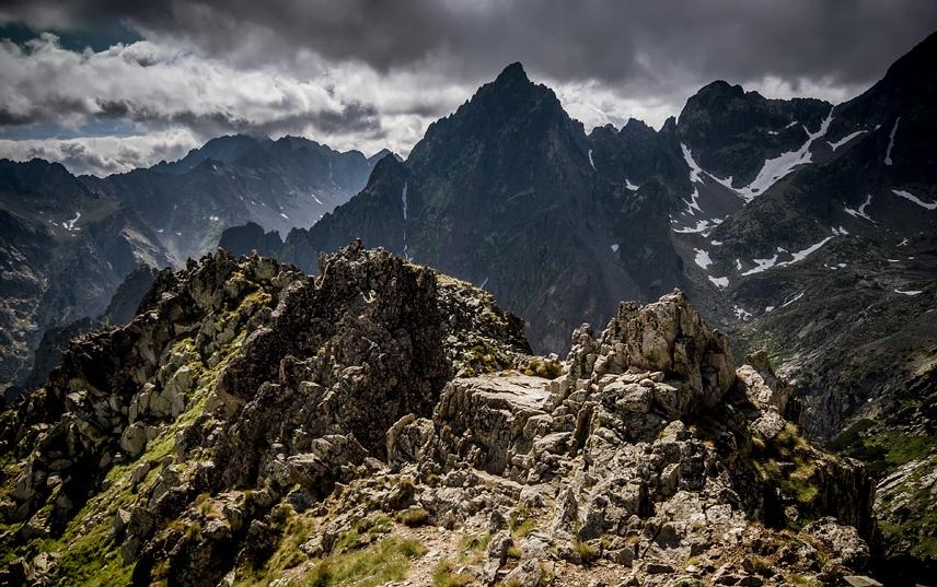 Карпатские горы в Польше