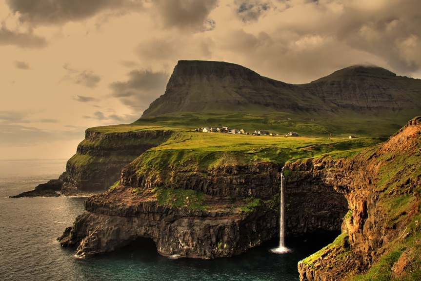 деревня на форерских островах