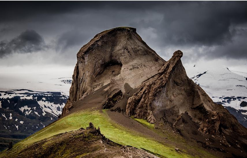 горы в Исландии, фотографии