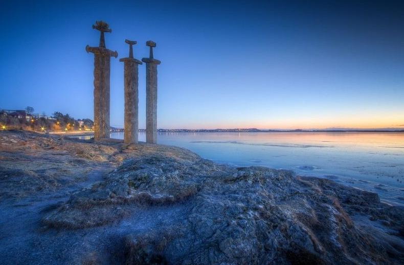 самый известный памятник в Норвегии