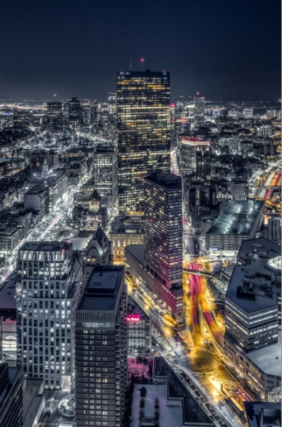 вид из бостонской башни благоразумия