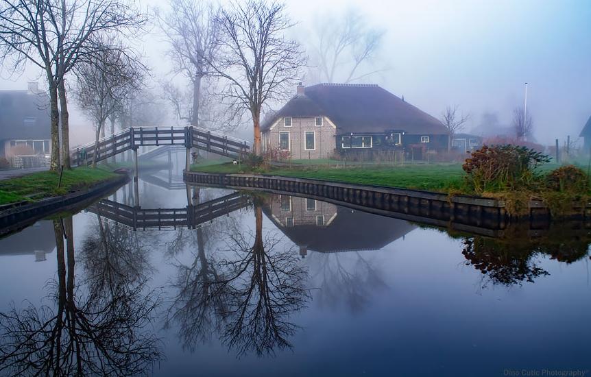 каналы деревни Гитурн