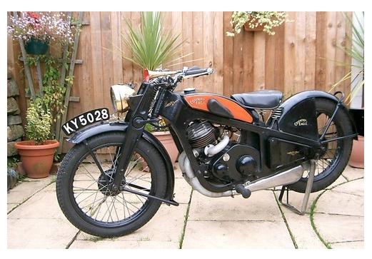 мотоцикл Coventry Eagle