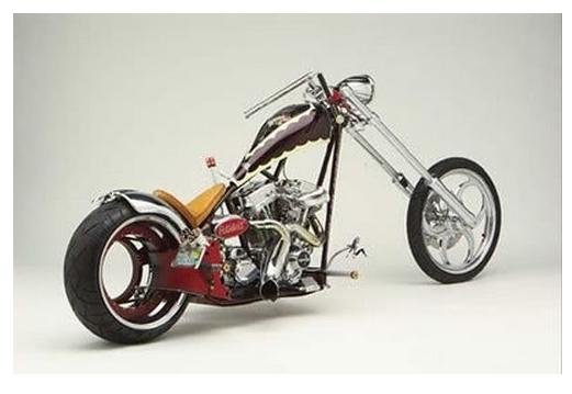 мотоцикл  Hub less Harley Davidson