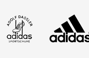 первый логотип adidas