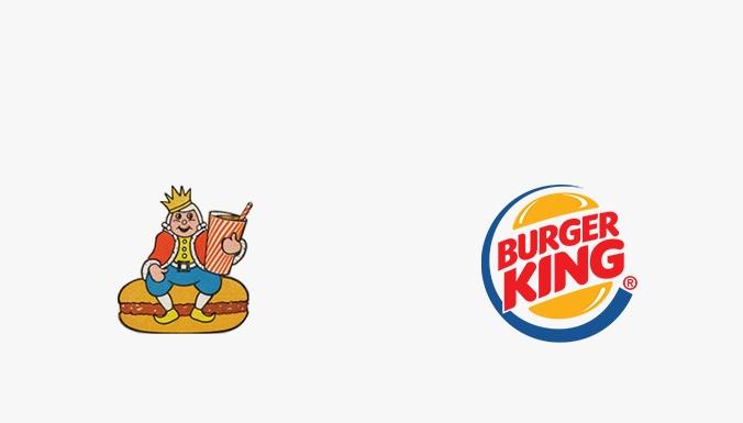 первый логотип burger king
