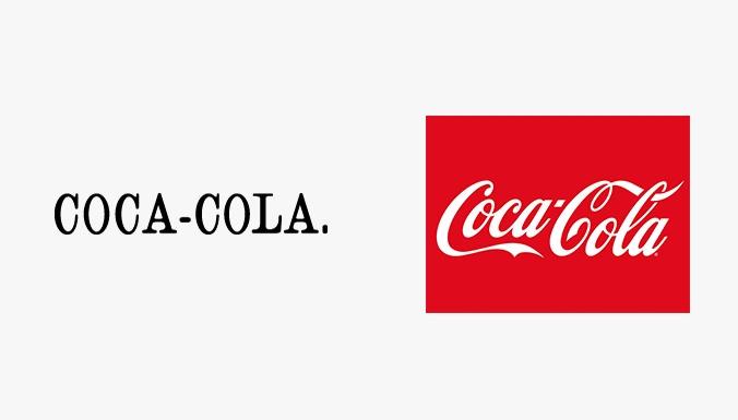 первый логотип coca cola