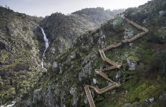 самая длинная лестница в Португалии
