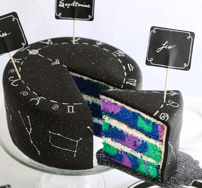 тортик со знаками зодиака