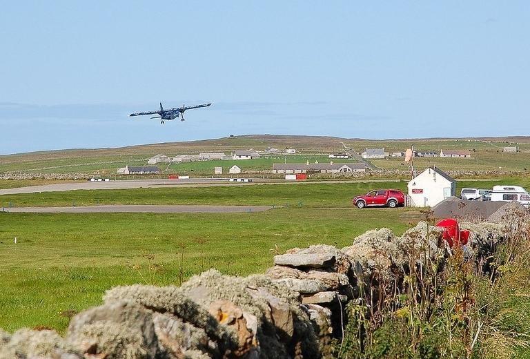 аэродром на севере Шотландии