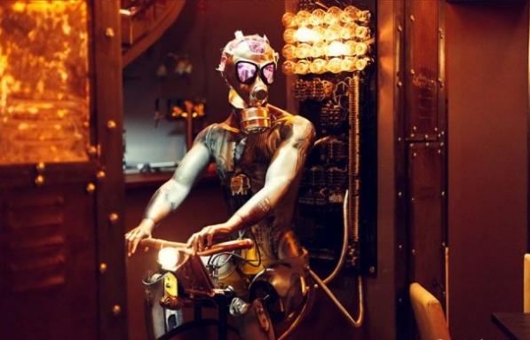 фигура механического человека