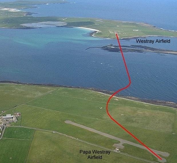 фото самого короткого авиационного маршрута