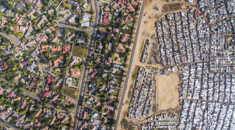 контрастные виды Кейптауна
