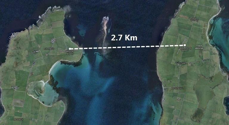 маршрут самого короткого авиарейса