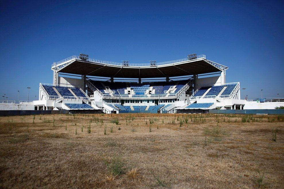 заброшенный стадион в афинах