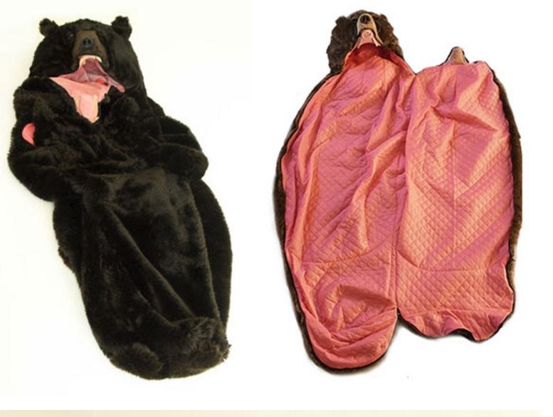 необычный спальный мешок