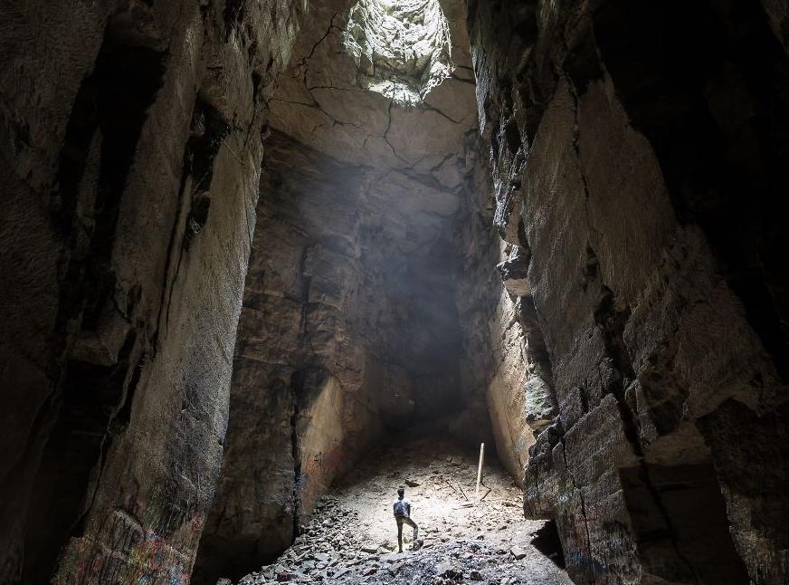 интересная пещера в Англии