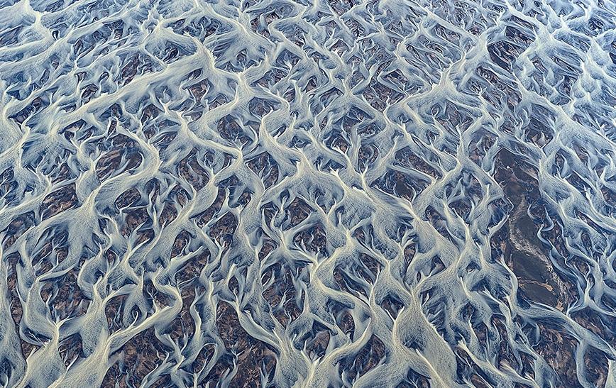 Если вы не поняли - речка и водоросли в ней. Правда выглядит это несколько... Необычно?