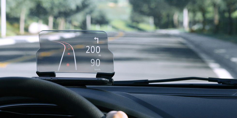 автомобильный hud навигатор