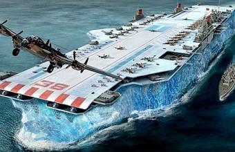 авианосец из льда