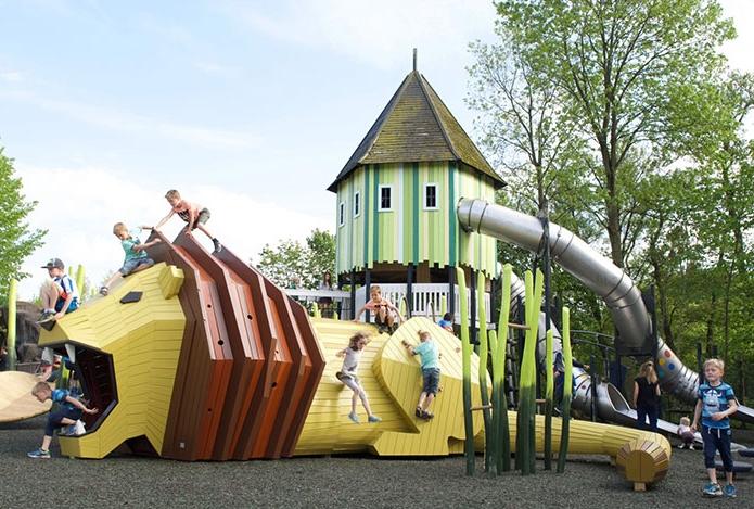 детская площадка в Дании