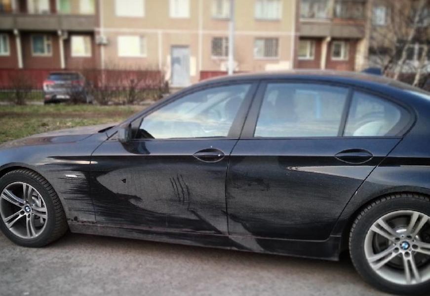 рисунки по грязным авто
