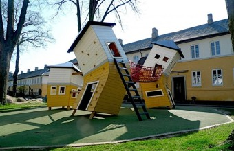 необычная детская площадка