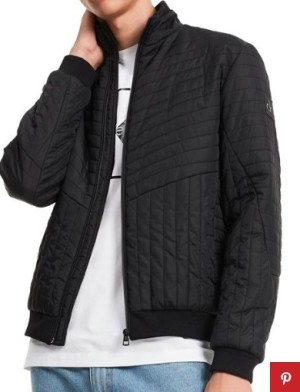 модная стеганная куртка