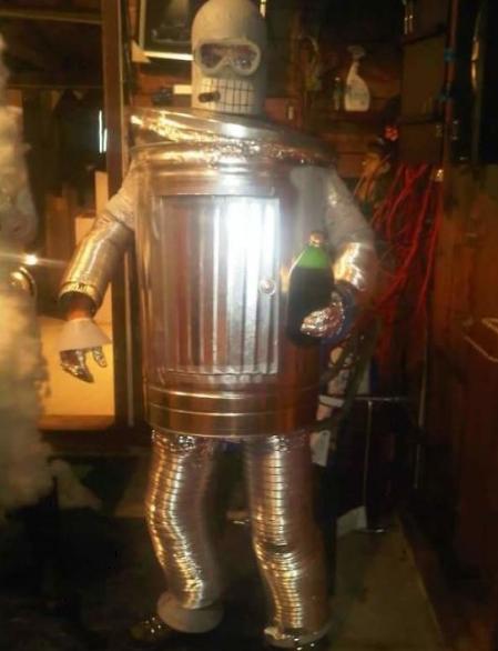 костюм робота Бендера