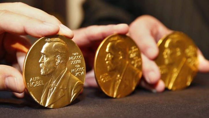 нобелевская медаль фото
