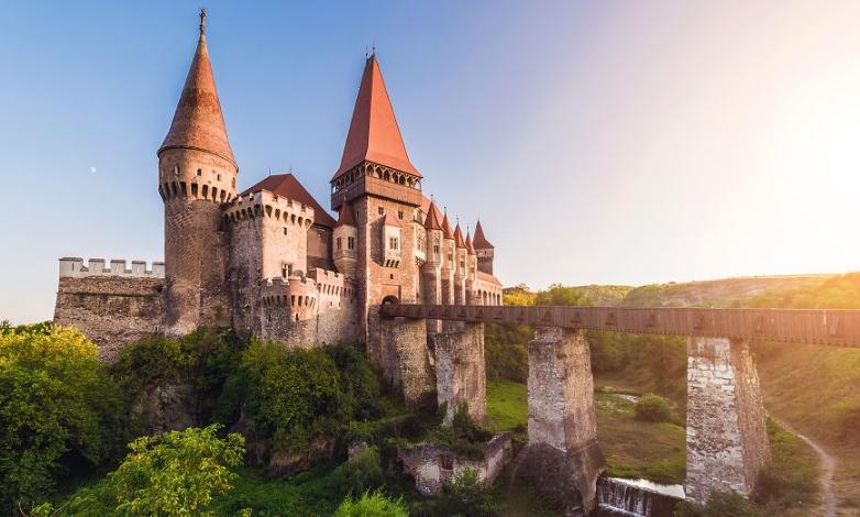 фото замка в Трансильвании