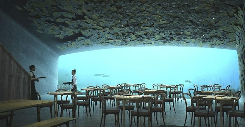 необычный ресторан Европы